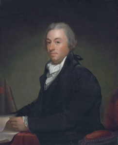 Gilbert Stuart (1755-1828)  Chancellor Robert R. Livingston, ca. 1794  Museum of the City of New York, 66.65