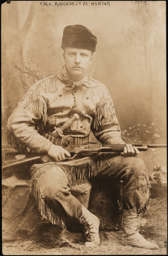 Urban Woodsman Theodore Roosevelt And His Buckskin Suit