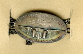 Dorothea A. Harnecker, New York, N.Y., Motor Corps of America, ca 1917, in the Collection on World War I and World War II. Museum of the City of New York. 03.89.3.