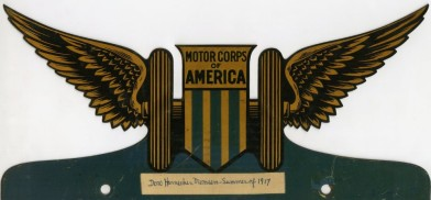 Motor Corps of America, Doro Harnecker-Momsen, 1917, in the Collection on World War I and World War II. Museum of the City of New York. 03.89.2.