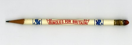 Bundles for Britain, in the Collection on World War I and World War II. Museum of the City of New York.