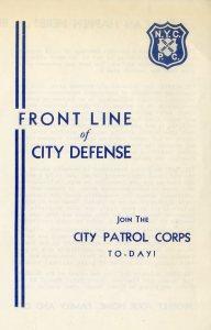 CityPatrolCorpsCover