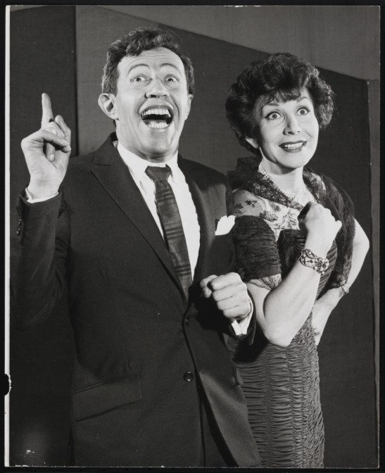 [Adolph Green and Betty Comden.] ca. 1955. Museum of the City of New York, F2013.41.5438.