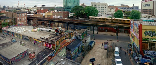5 Pointz, Long Island City, Queens, 2004, by Jeff Chien Hsing Liao