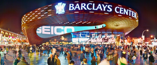 Opening Day, Barclays Center, Brooklyn, 2013