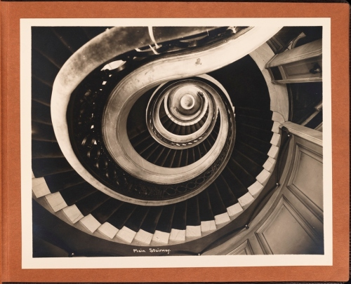 Unknown photographer. Main Stairway [Union Club, 1 East 51st Street.] 1930. Museum of the City of New York. F2013.123.9