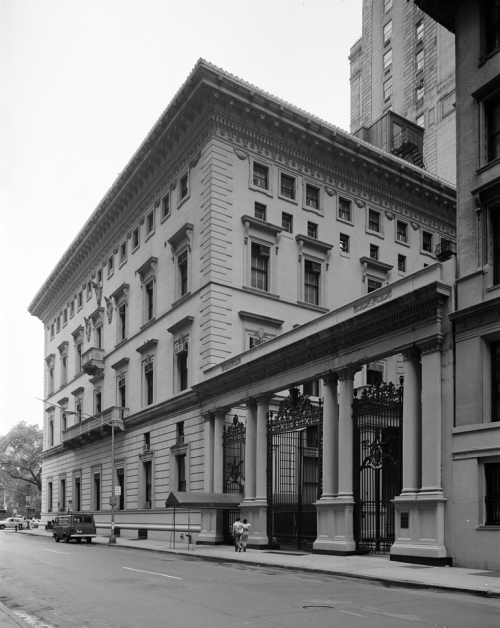 [Metropolitan Club, 1-11 East 60th Street.]