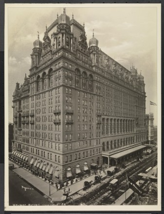 Byron Company (New York, N.Y.). Waldorf Astoria, ca. 1901. Museum of the City of New York. 93.1.1.6762.