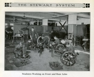 The Stewart System of Automobile Instruction, ca. 1923, in teh Stewart Technical School collection, 99.136.4.