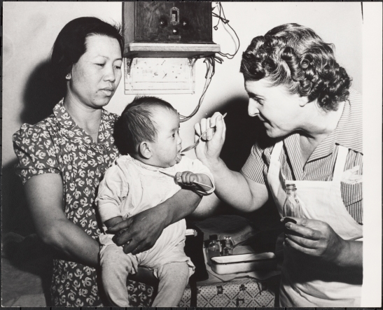 Henry Street Visiting Nurse Service, Helping a Chinese Mother Sp