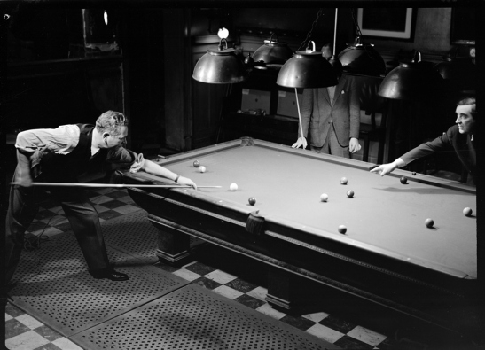 Wurts Bros. (New York, N.Y.). [Players Club. Billiard room.] ca. 1939, Museum of the City of New York. X2010.7.1.17081