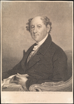 Print engraved by T. Kelley. Rufus King. Gilbert Stuart (1755-1828), ca. 1830-1875. Museum of the City of New York, F2012.56.48.