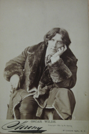 Sarony, Oscar Wilde, 1882, Museum of the City of New York, 34.239.148