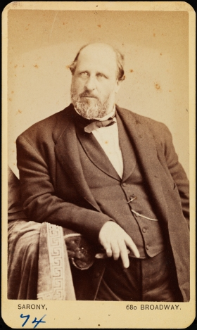 Napleon Sarony, William M. Tweed, ca. 1870, Museum of the City of New York, F2012.59.1245