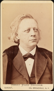 Sarony, Henry Ward Beecher, ca. 1875, Museum of the City of New York, 99.7.3