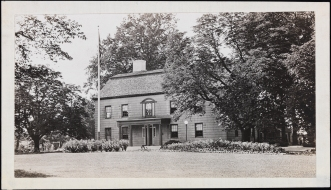 Unknown photographer. [Rufus King's House], ca. 1950. Museum of the City of New York. X2010.11.8027.