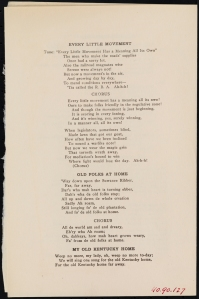 The R.B.A. Songster. 1910. Collection on Special Event Dinners. Museum of the City of New York. 49.90.127