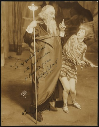 White Studio. [Louis Calvert as Prospero and Fania Marinoff as Ariel.] 1916. Museum of the City of New York. 42.76.16.