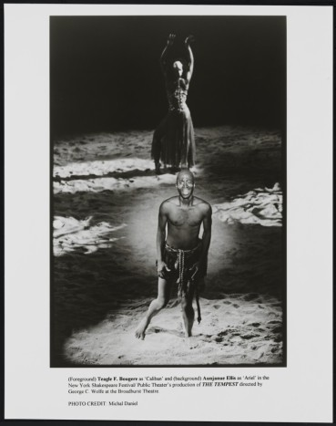 Michal Daniel. [Teagle F. Bougere as Caliban and Aunjanue Ellis as Ariel.] 1995. Museum of the City of New York. F2013.41.7544.