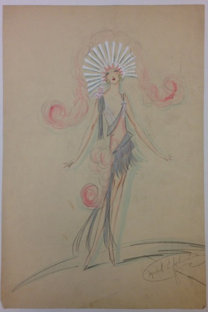 Mabel E. Johnston. [Showgirl in Earl Carroll's Vanities of 1926.] 1926. Museum of the City of New York. 77.106.17.