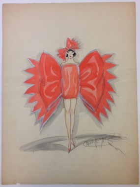 Mabel E. Johnston. [Bow dress from unidentified musical.] ca. 1925. Museum of the City of New York. 77.106.20.