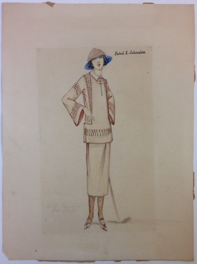 Mabel E. Johnston. [Student design.] 1922. Museum of the City of New York. 77.106.34.