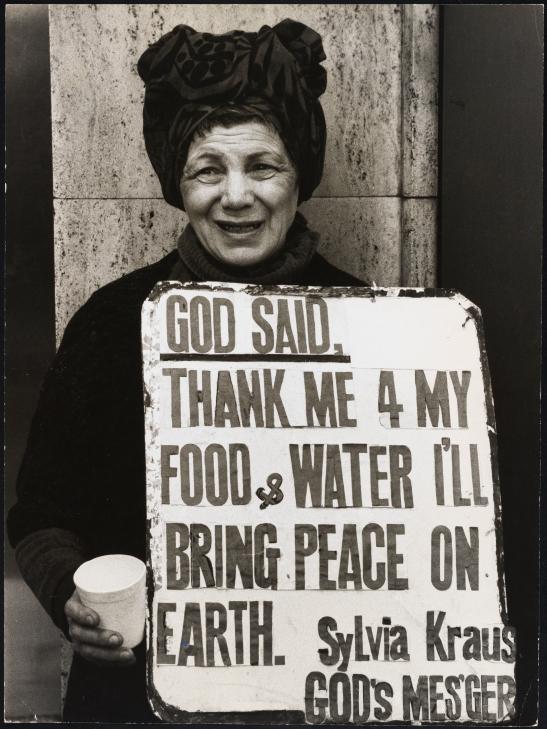 Sylvia Kraus, Times Square, NYC, 1960s