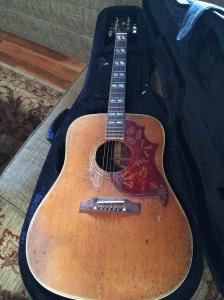 Eric Andersen's Hummingbird Gibson, 1963. Sari Andersen