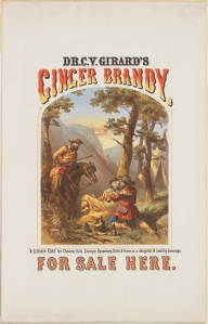 """A Certain Cure"" for Cholera Colic Cramps Dysentery, Chills & Fever, is a delightful & healthy beverage."