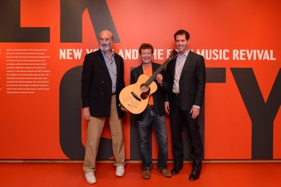 Noel Paul Stookey (of Peter, Paul & Mary) with Christian Frederick Martin IV (of C. F. Martin & Co.) and Stephen Petrus