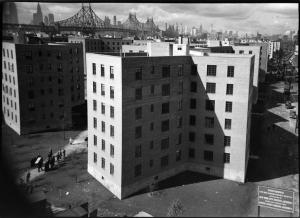 Wurts Bros. (New York, N.Y.), [Queensbridge Houses with Midtown Manhattan in the distance.], 1939. Museum of the City of New York. X2010.7.1.16656