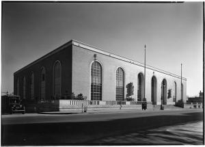 Gottscho-Schleisner, Inc., Bronx Post Office, 1938. Museum of the City of New York. 88.1.1.5313