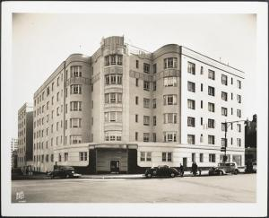 Wurts Bros. (New York, N.Y.), 888 Grand Concourse. Apartment building, 1937. Museum of the City of New York. X2010.7.2.7464