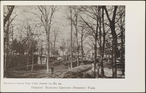 Brooklyn Daily Eagle (Firm). Friends' Burying Ground -- Prospect Park. ca. 1915. Museum of the City of New York. X2011.34.1829