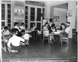 New York City Housing Authority, Nursery, Harlem River Houses, 1939. Museum of the City of New York. 41.277.50