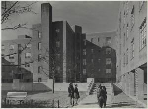 Samuel H. (Samuel Herman) Gottscho (1875-1971), [Harlem River Houses] Some of the 576 apartments for colored people, 1936. Museum of the City of New York. 41.239.3