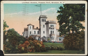 Litchfield Mansion, Prospect Park, Brooklyn, N. Y. ca. 1926. Museum of the City of New York. X2011.34.1843