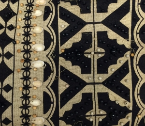 Detail Ruby Bailey Afrocentric Jacket 2004.41.8
