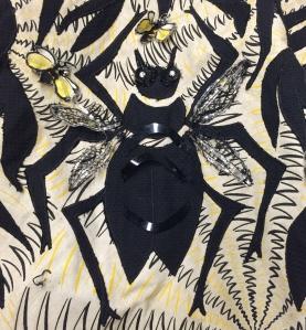 "Detail Ruby Bailey ""Bug"" Dress 2004.41.4"