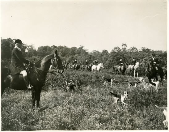 Freudy Photos, Inc. [Unidentified Hunt, ca. 1930s]. Museum of the City of New York, Harry T. Peters papers.