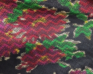 """Detail Ruby Bailey """"Rose"""" Dress 2004.41.2"""