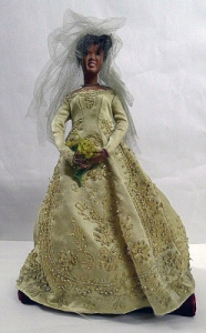 Ruby Bailey Doll: Wedding Gown 2004.41.28