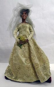 Ruby Bailey Doll: Wedding Gown 2004.41.28