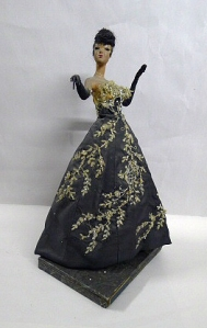 Ruby Bailey Fashion Doll: Floral Ball Gown 2004.41.39