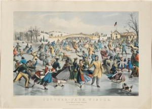 Charles Parsons (1821-1910). Currier & Ives. Central-Park, Winter. 1862. Museum of the City of New York. 58.300.91
