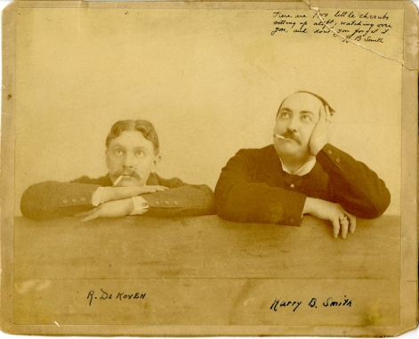 Unknown. [Reginald De Koven and Harry B. Smith.] Ca. 1899. Museum of the City of New York. 61.150.863.