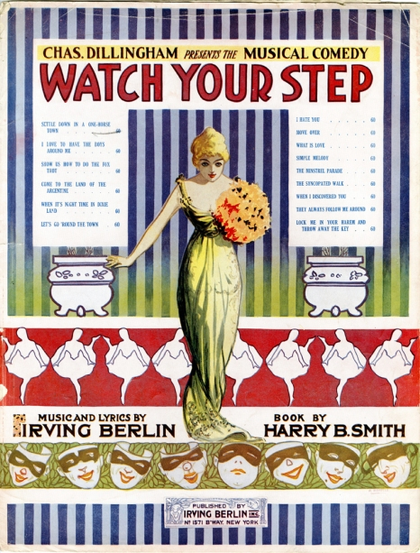 Sheet music from Watch Your Step. 1914. Museum of the City of New York. 66.67.24.