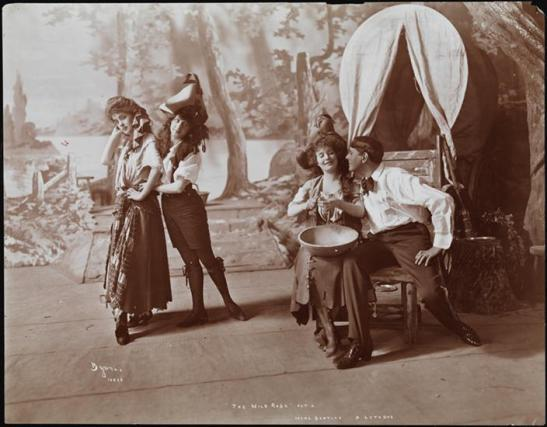 Byron Company [Plays, The Wild Rose.] 1902 Museum of the City of New York. 41.420.755.