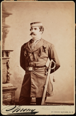 "Sarony. Lester Wallack as Elliott Grey in ""Rosedale"". ca. 1871. Museum of the City of New York. 41.367.5"