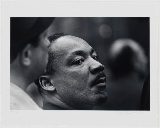 Benedict J. Fernandez, untitled [Dr. Martin Luther King, Jr.], April 15, 1967. Museum of the City of New York. 99.150.7.